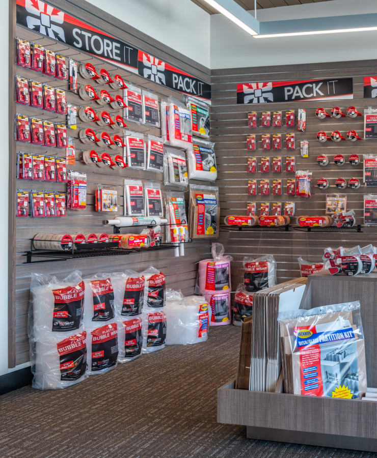 Packing supplies available at StorQuest Self Storage in Portland, Oregon