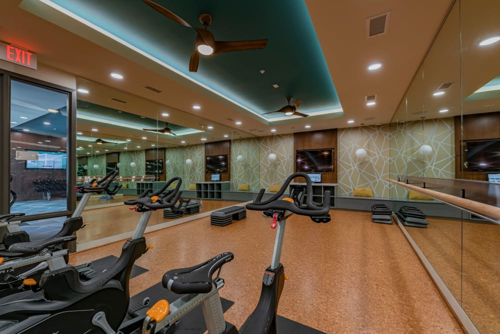 Fitness center at Encore Tessera in Phoenix, Arizona