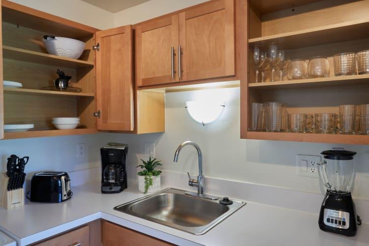 Kitchen at Briar Cove Terrace Apartments