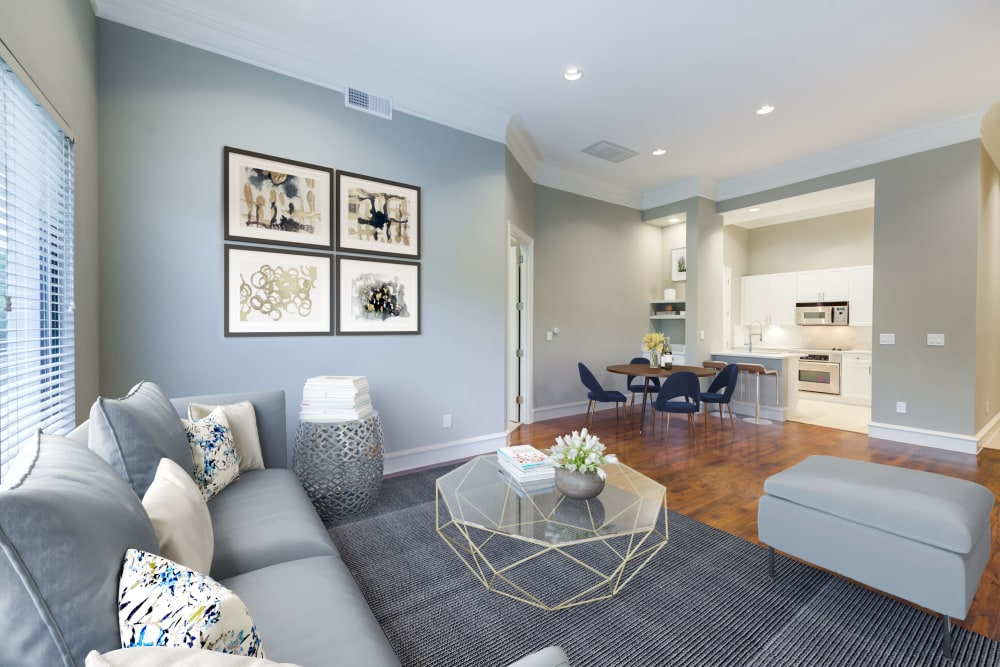 Plenty of room for hosting at Rienzi at Turtle Creek Apartments