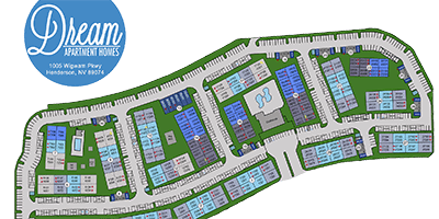 Dream Apartments site plan