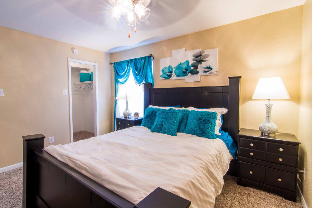 Bedroom at Parkside Apartments