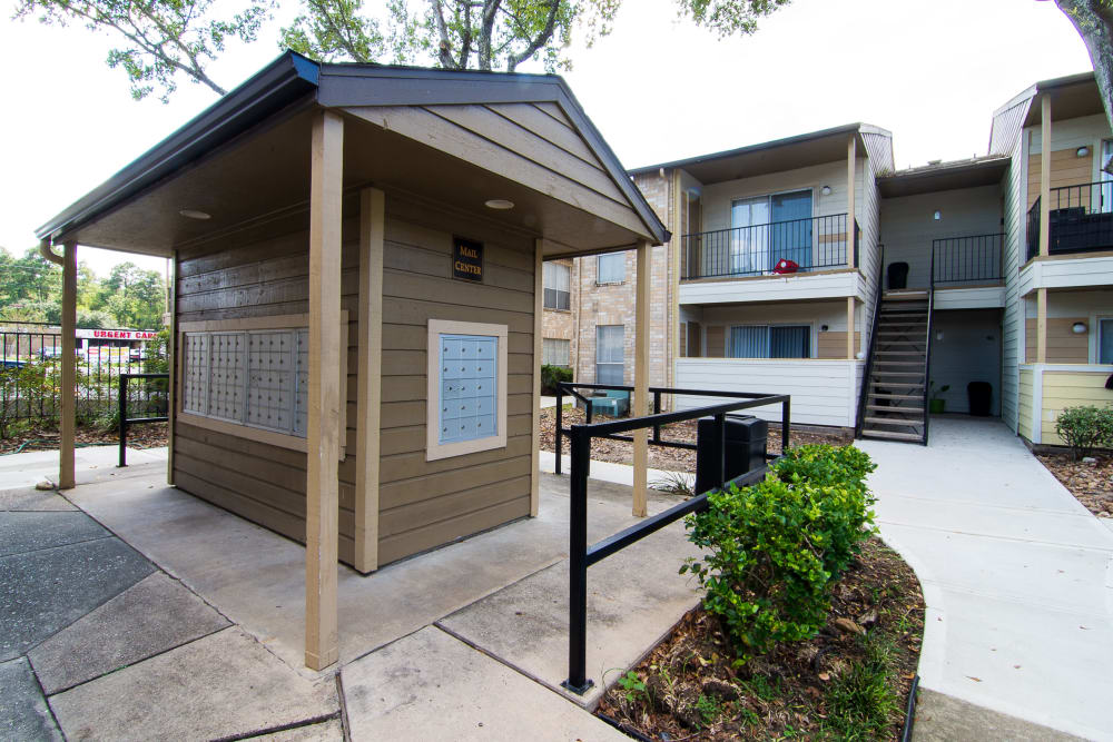 Mail center at Parkside Apartments