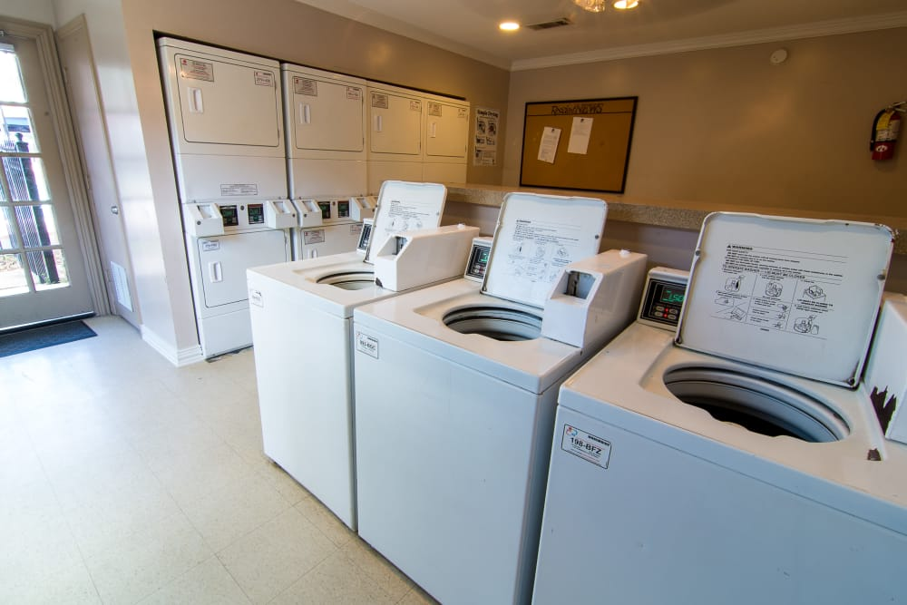 Laundry at Parkside Apartments