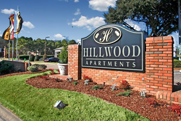 Hillwood Apartments in Montgomery, Alabama