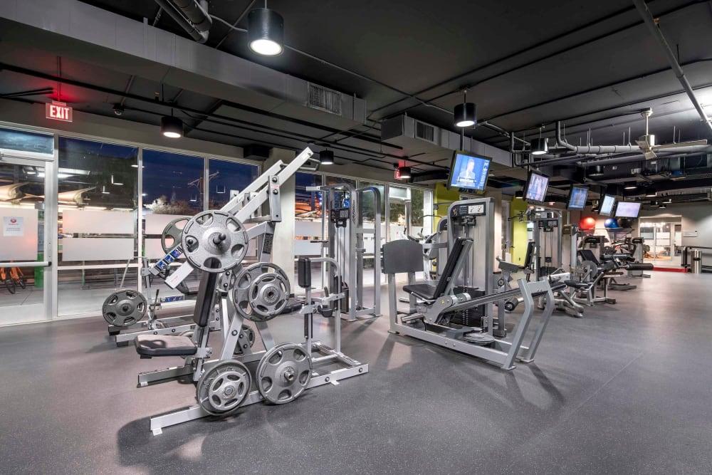 Onsite fitness center at Tempe Metro in Tempe, Arizona
