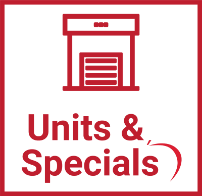 Units & Specials at Centron Self Storage in North York, Ontario
