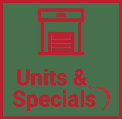 Units & Specials at Vault Self Storage in Holland Landing, Ontario