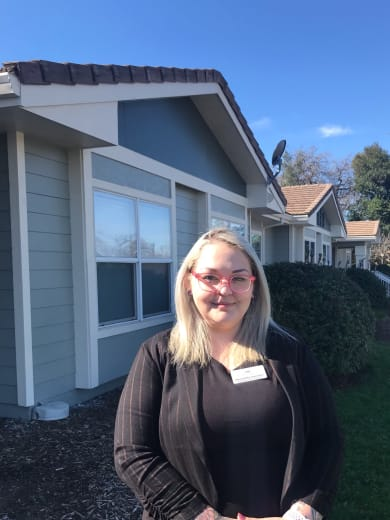 Samantha of Lassen House Senior Living in Red Bluff, California