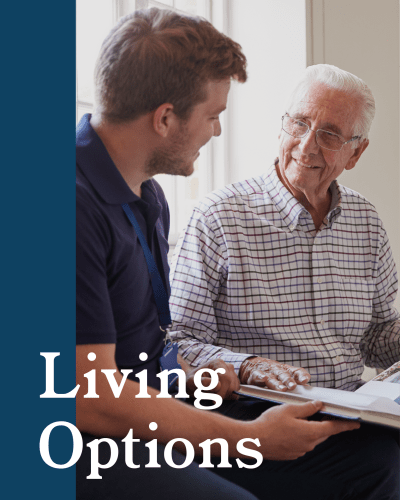 Living options at MacArthur Hills in Irving, Texas