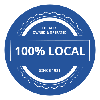 100% local at Reliable Storage in Poulsbo, Washington
