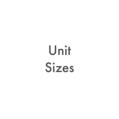 Link to Unit Sizes at A3 Storage Centers in Cedar Park, Texas