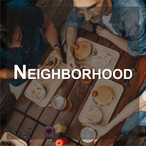 Visit the neighborhood of Watercourse Apartments