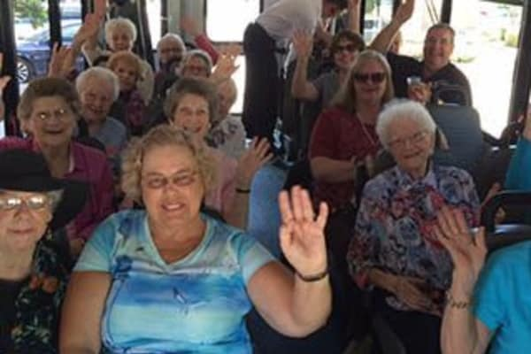 Discovery Commons At Spring Creek senior living transportation options in Garland, Texas