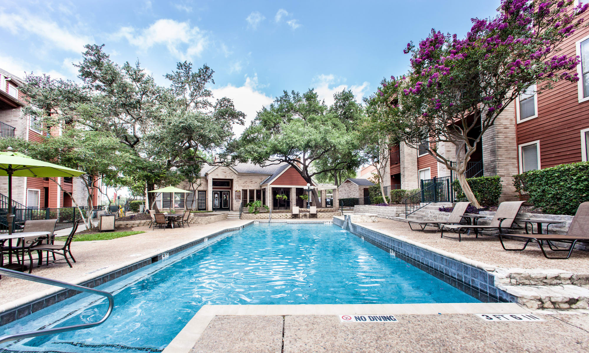 Apartments at Ashley Oaks in San Antonio, Texas