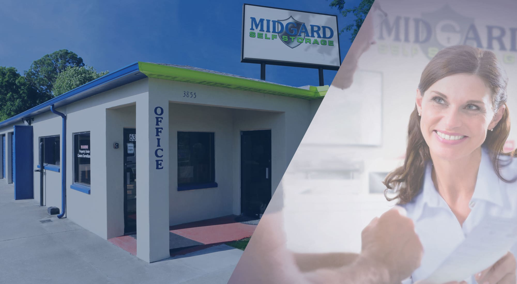 Self storage at Midgard Self Storage in Cocoa, Florida