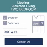 2 bedroom Floor plans available at Legacy Living Jasper