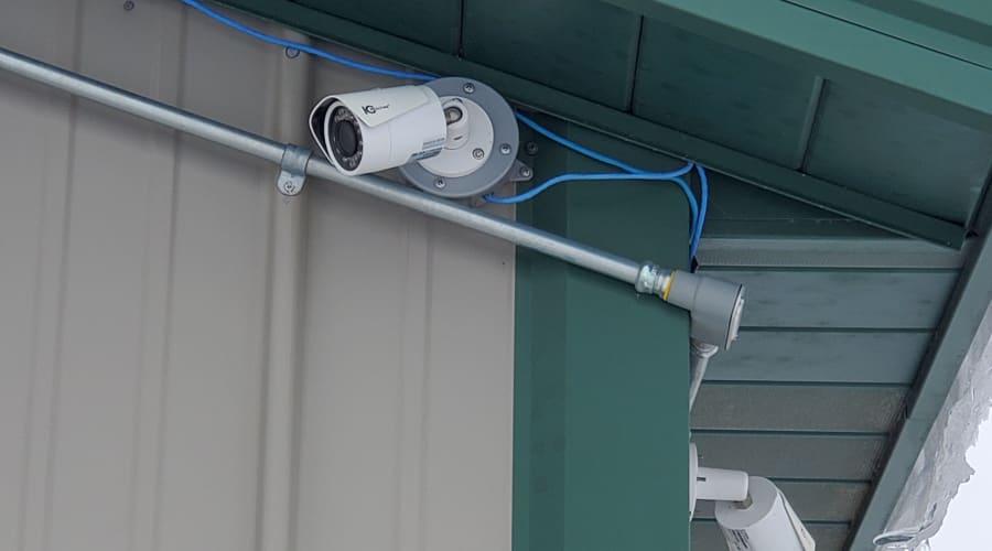 Security cameras at KO Storage of Alexandria - North in Alexandria, Minnesota