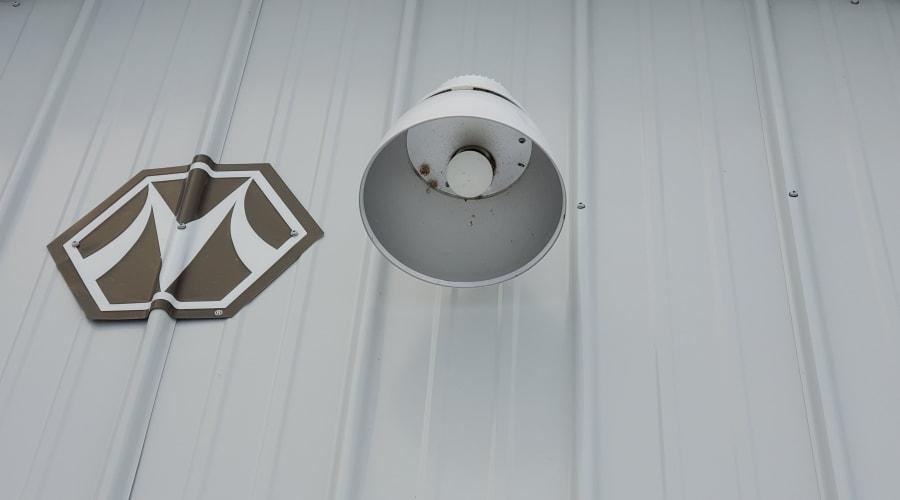 Bright outdoor lighting at KO Storage of Alexandria - East in Alexandria, Minnesota