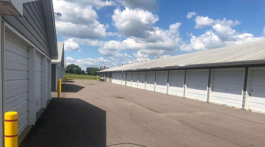Exterior of outdoor units at KO Storage of Big Lake in Big Lake, Minnesota