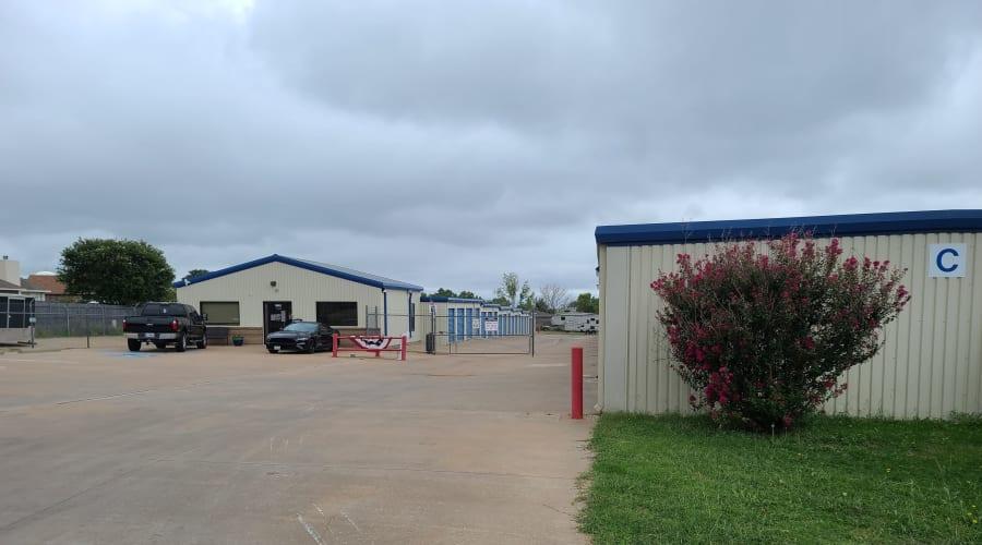 Gated entrance to KO Storage of Wichita Falls - North in Wichita Falls, Texas
