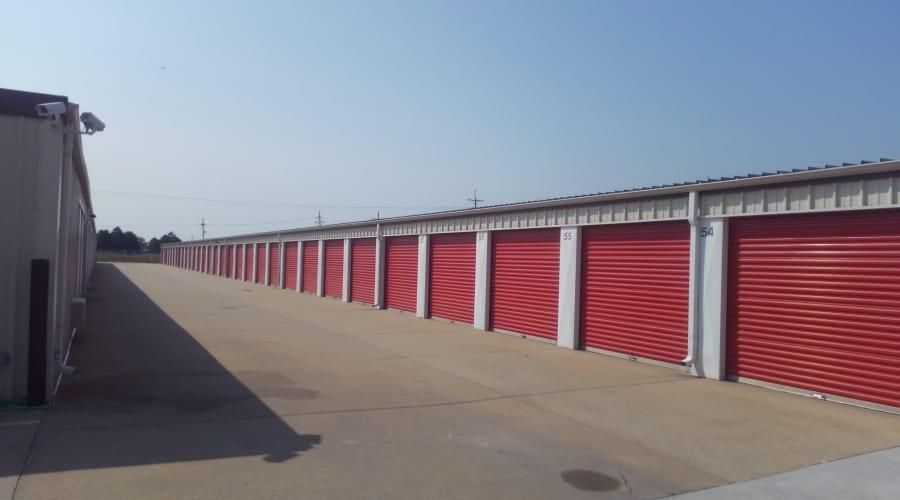 Exterior of outdoor units at KO Storage of Salina - 9th in Salina, Kansas