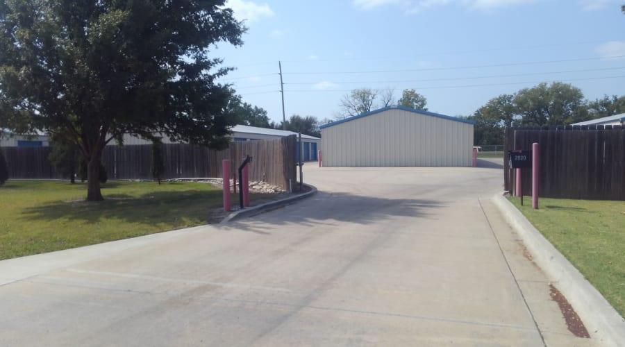 The entrance to KO Storage of Salina - Foxboro in Salina, Kansas