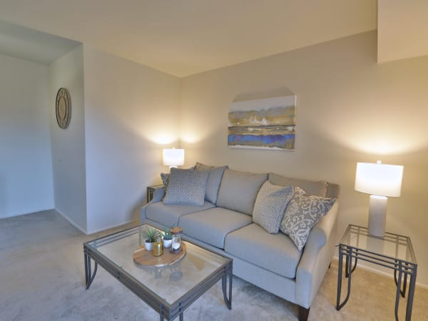 Enjoy an ample living space at The Willows Apartment Homes