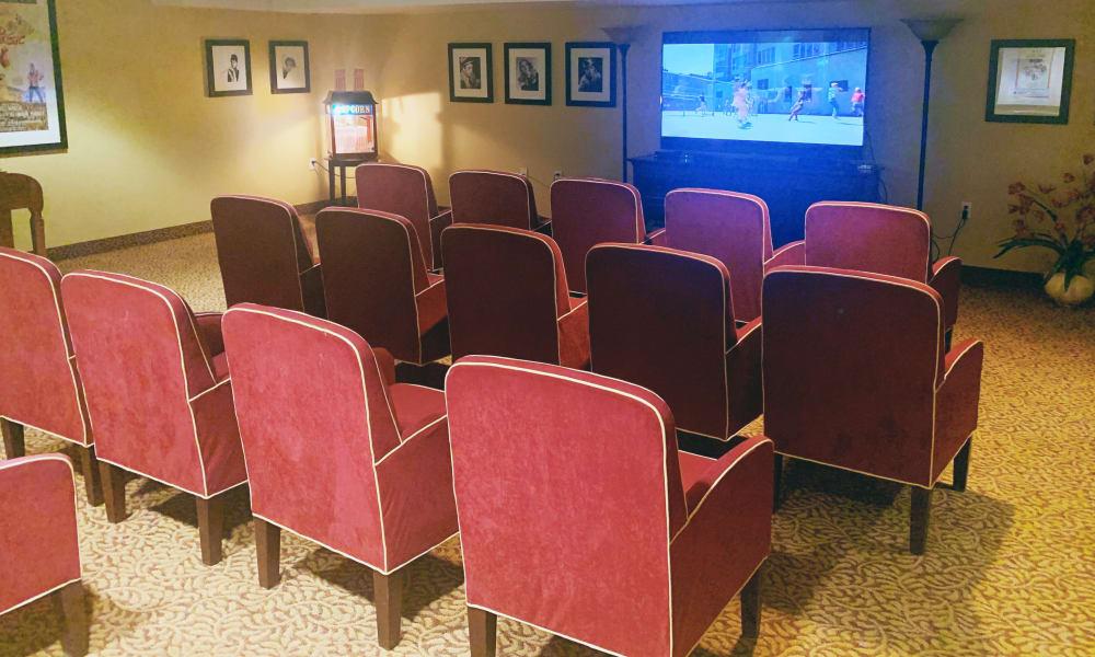 Theater at Maple Ridge Senior Living
