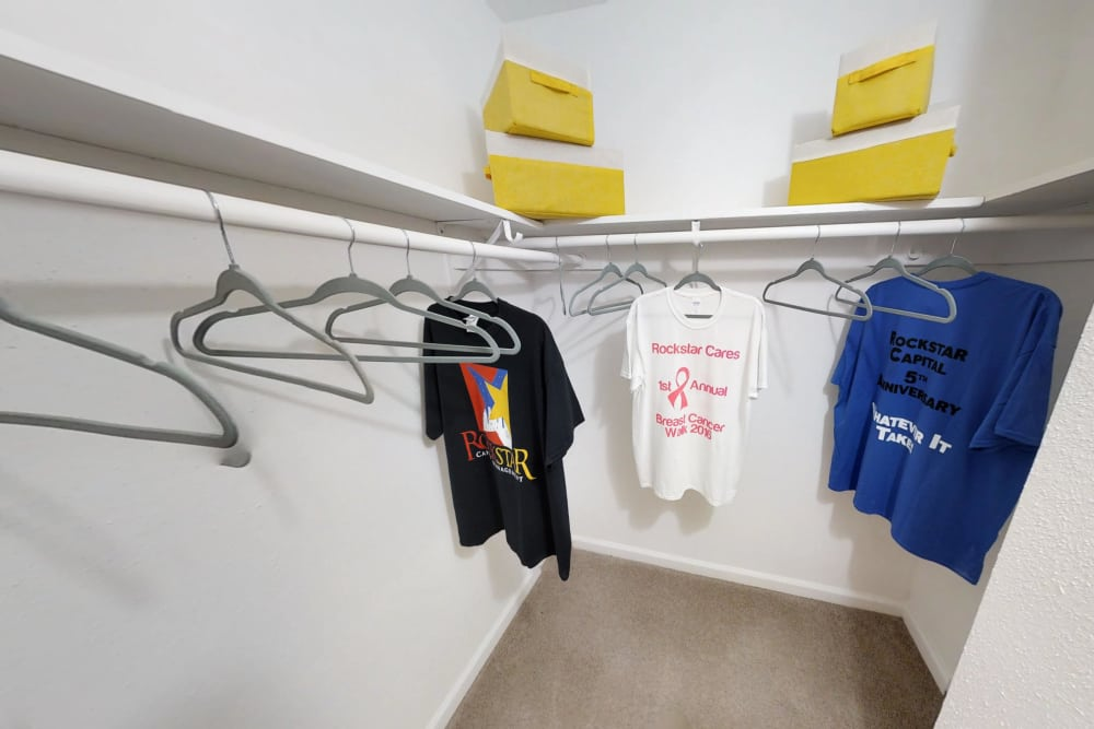 Northlake Manor Apartments has walk-in closets in Humble, TX