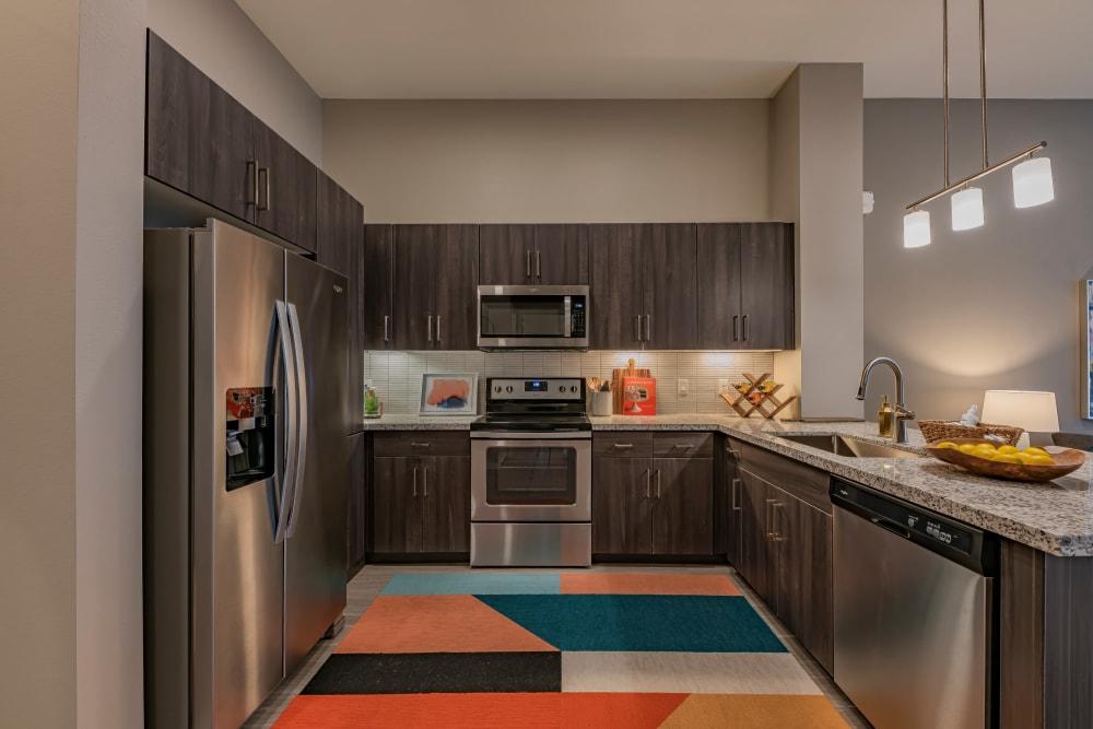 Sleek, modern apartments at The Tessera in Phoenix, Arizona