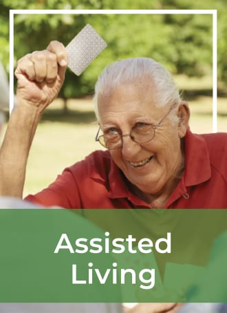 Assisted living at Touchmark Central Office in Beaverton, Oregon