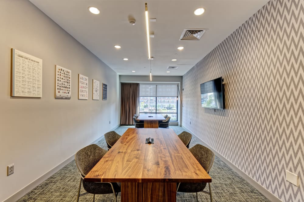 Vela on the Park offers a spacious conference room in Stamford, Connecticut