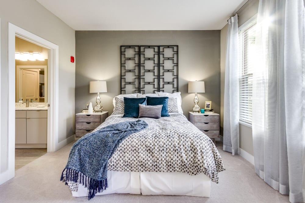 Master bedroom at Steele Creek in Jacksonville, Florida