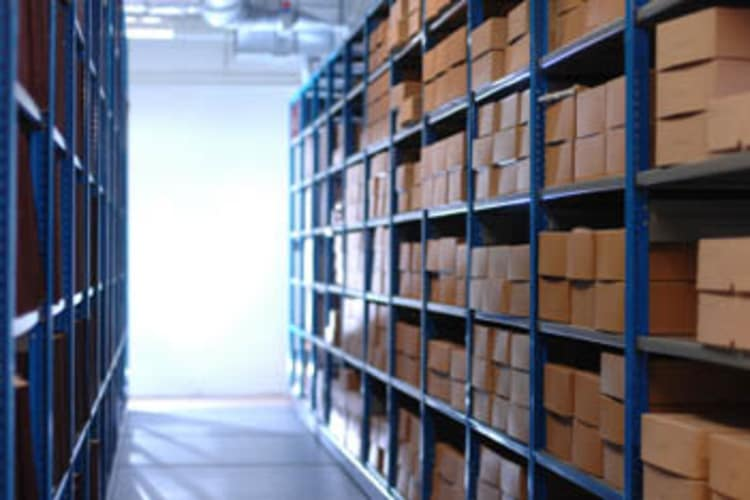 File storage at Bay Area Self Storage