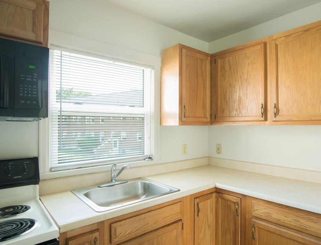 Kitchen room at Netherlands Village in Schenectady