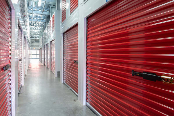Indoor storage units at Trojan Storage in San Jose, CA