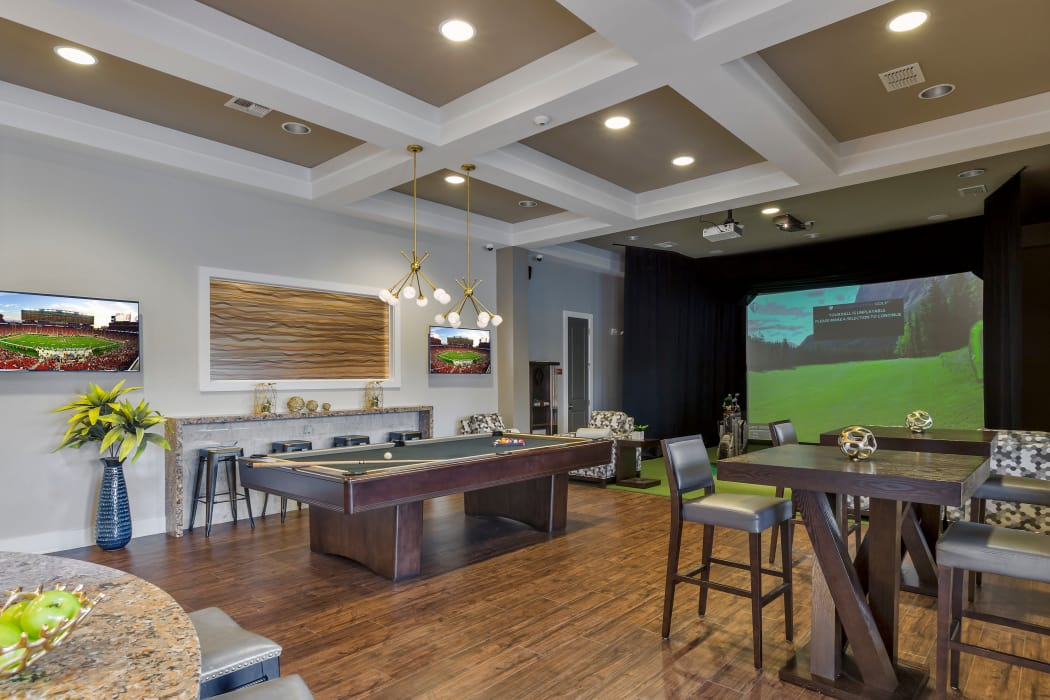 Games room at Sands Parc in Daytona Beach