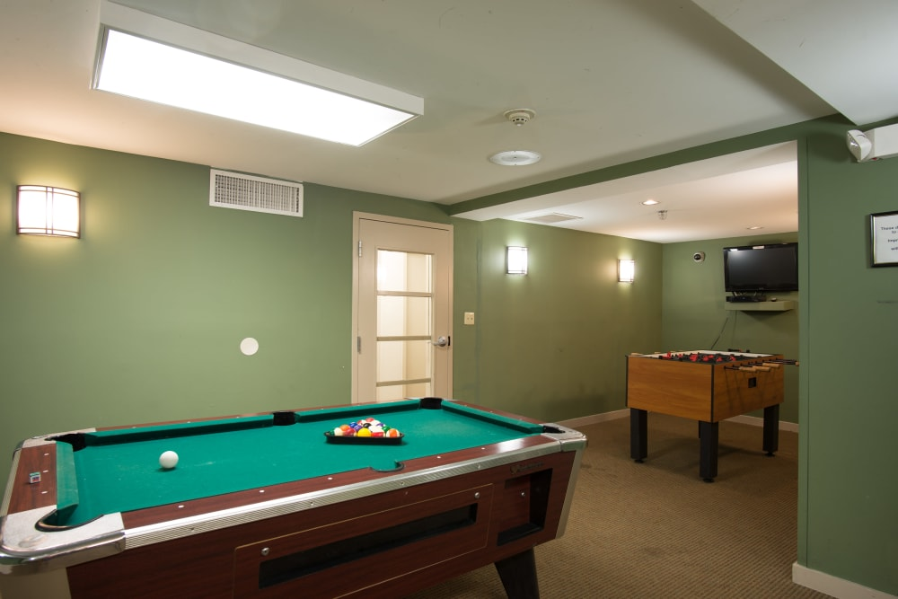 Chelsea Ridge Apartments offers a game room for residents in Wappingers Falls, NY