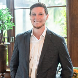 Team member Colton Westcott at CREA Management in Austin, Texas