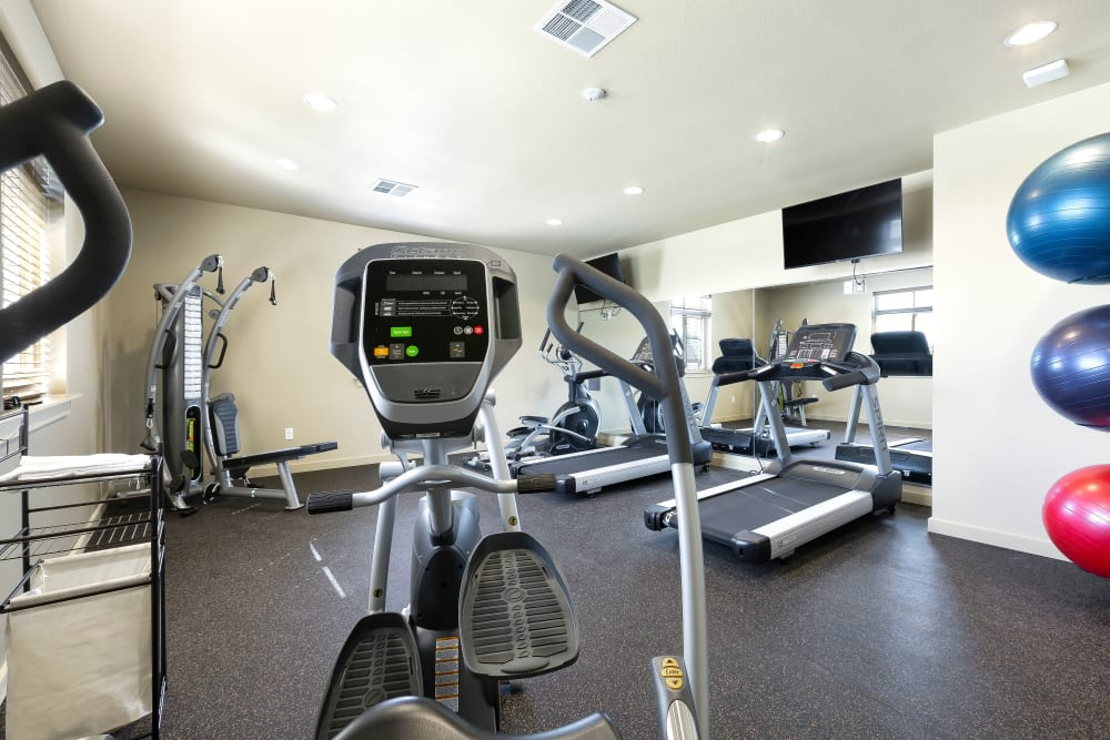 On-site gym for all Affinity at Southpark Meadows residents