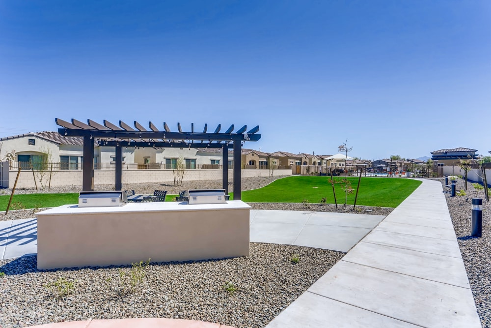 Walkway at Avilla Camelback Ranch in Phoenix AZ