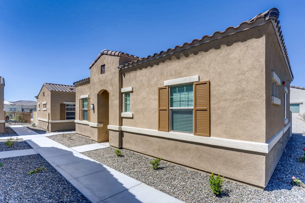 Front view of apartment home Avilla Camelback Ranch in Phoenix AZ