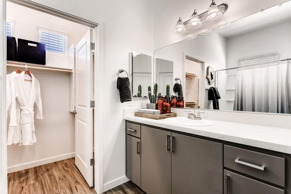 Large bathroom and closet at Avilla Camelback Ranch in Phoenix AZ