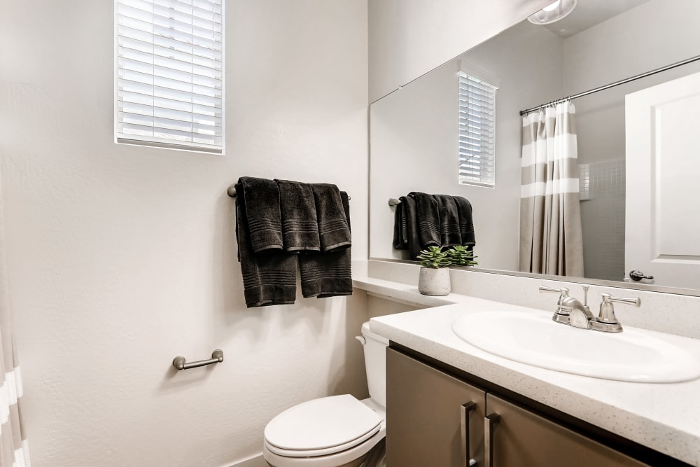 Bathroom amenities at Avilla Camelback Ranch in Phoenix AZ