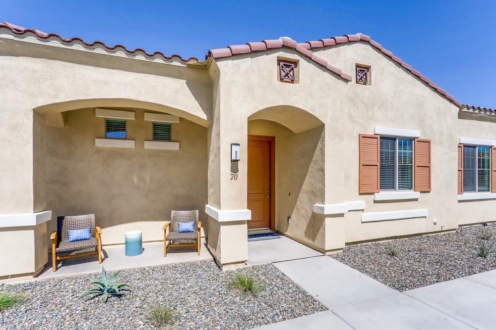 Adobe apartment home at Avilla Camelback Ranch in Phoenix AZ