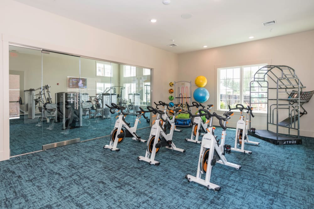 Gym at Silver Collection at Carl D. Silver Parkway in Fredericksburg, Virginia