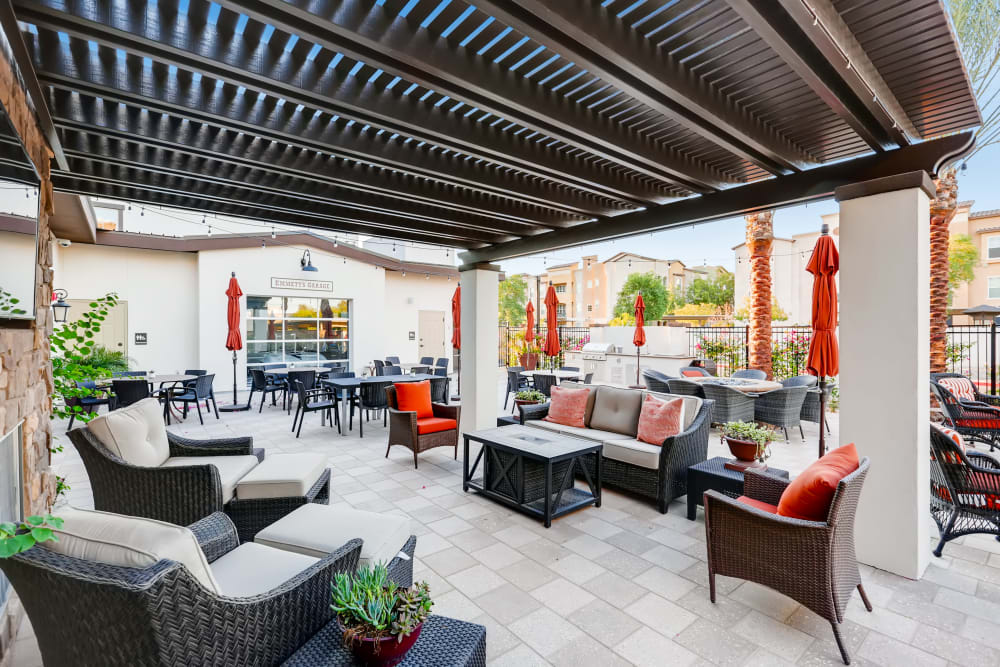Patio at The Park at Surprise Independent Living Community