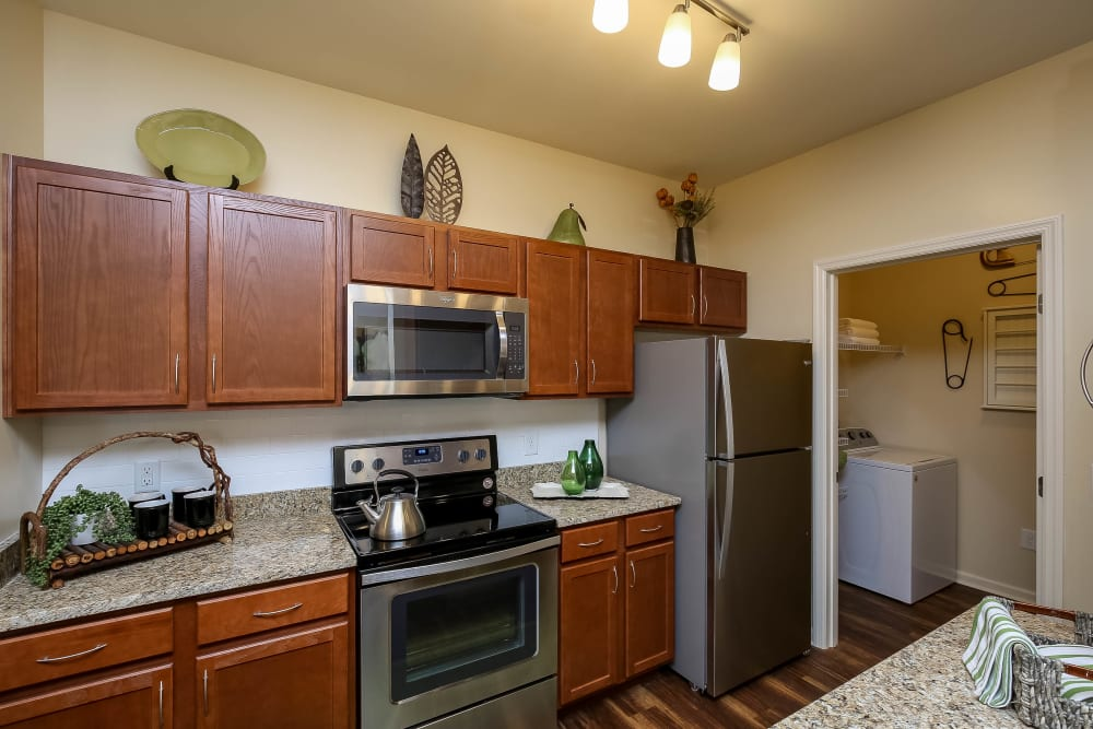 Kitchen at Apartments in Spring Hill, Tennessee