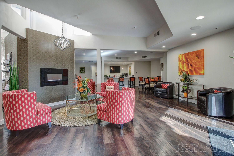 Lobby at Casa Santa Fe Apartments in Scottsdale, Arizona